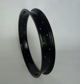 """alloy rim RM65, 20"""", black anodized, 36 h"""