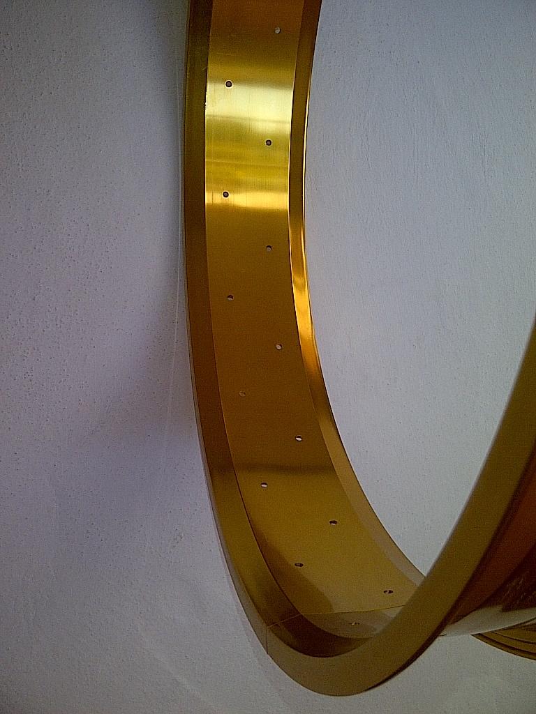 """Alufelge RM80, 26"""", golden eloxiert"""