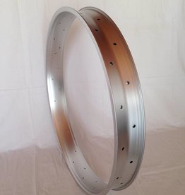 "alloy rim DW80, 28"", silver (matt) anodized"