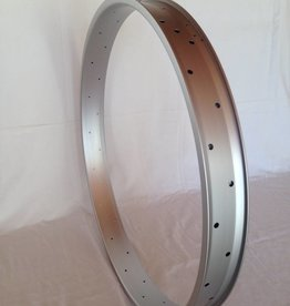 "alloy rim DW65, 28"", silver (matt) anodized"