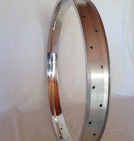 """alloy rim DW65, 28"""", polished"""