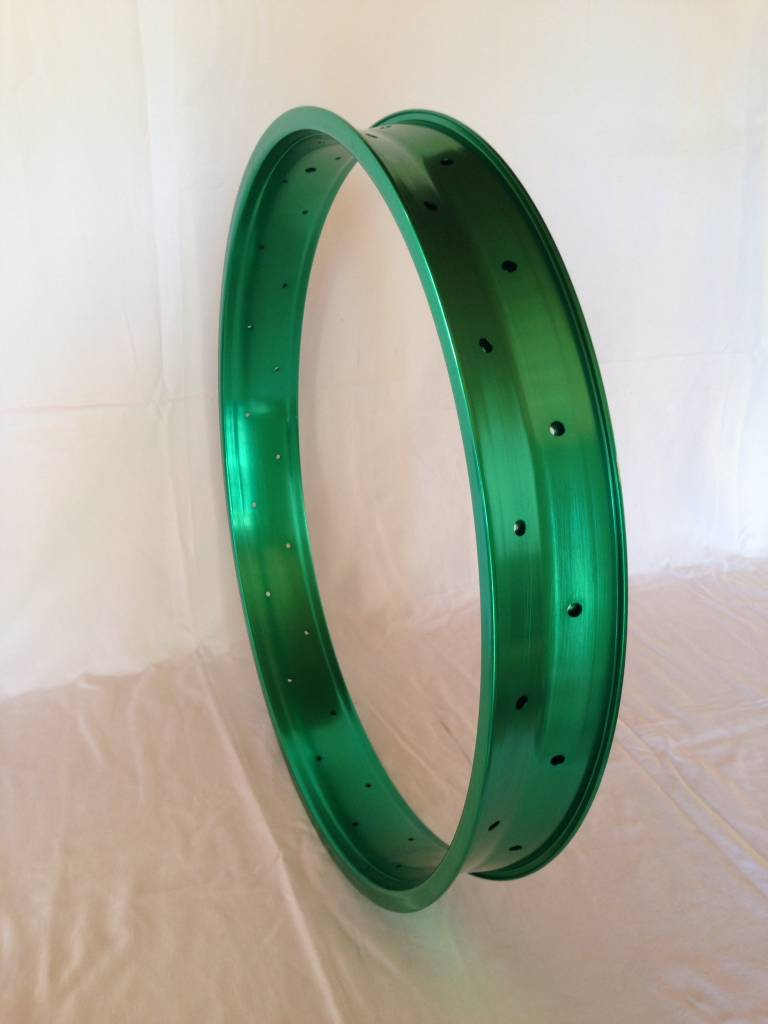"alloy rim DW80, 26"", green anodized"