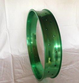 "alloy rim DW100, 24"", green anodized"