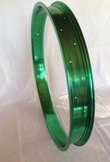 "alloy rim RM65, 26"", green anodized"