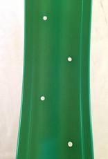 "alloy rim DW80, 24"", green anodized"