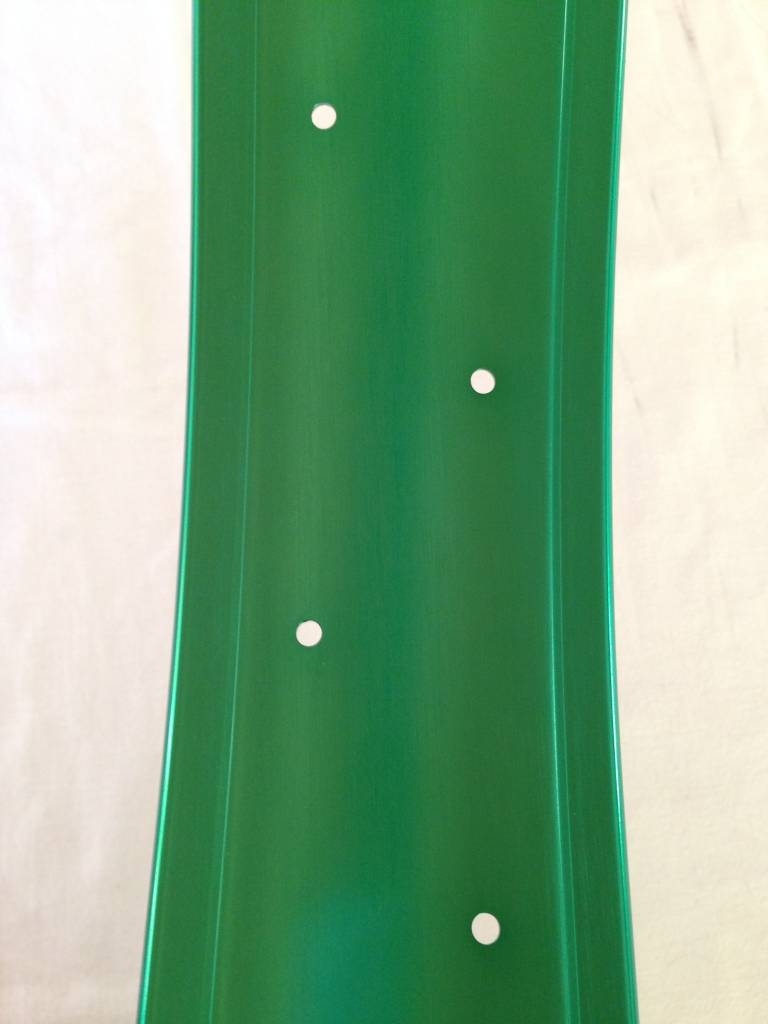 "Alufelge DW80, 24"", grün eloxiert"