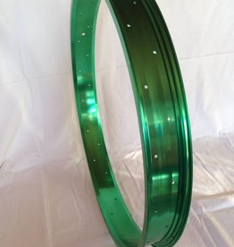 "alloy rim RM65, 24"", green anodized"