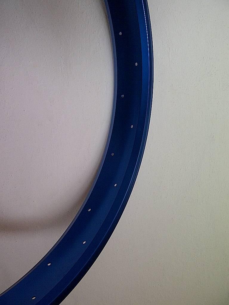 """Alufelge RM65, 26"""", blau eloxiert"""