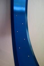 """Alufelge RM100, 24"""", blau eloxiert"""