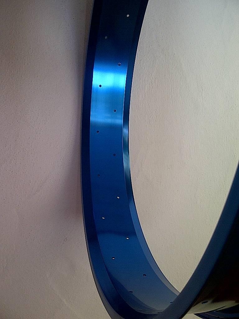 """alloy rim RM80, 24"""", blue anodized"""