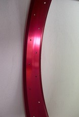"""alloy rim RM65, 24"""", red anodized"""