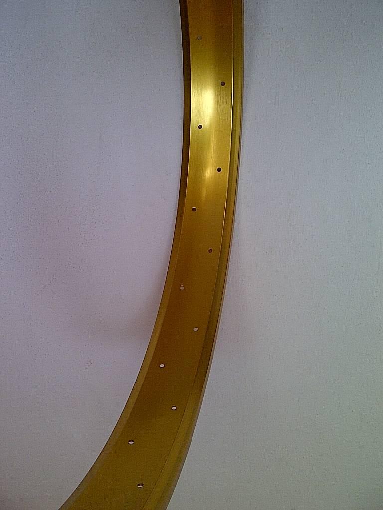 """Alufelge RM65, 24"""", golden eloxiert"""