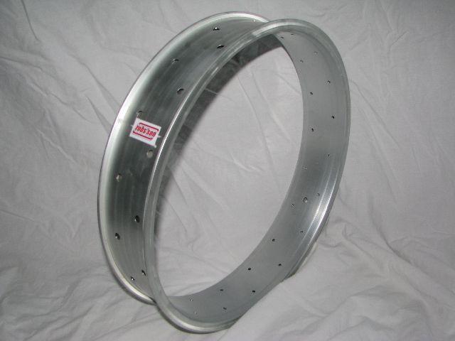 "alloy rim DW80, 24"", silver (matt) anodized"