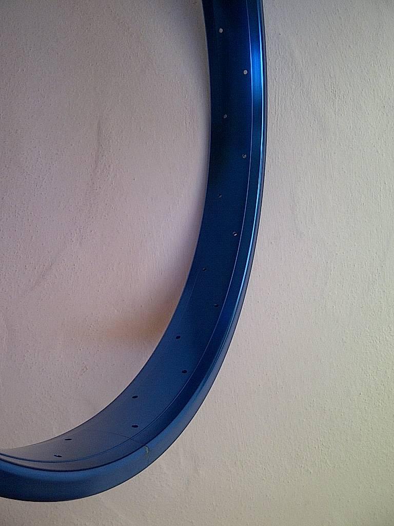 """alloy rim DW65, 24"""", blue anodized"""