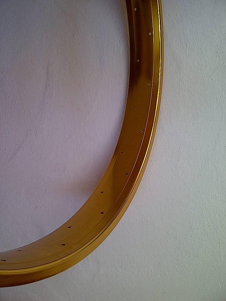 """alloy rim DW65, 24"""", golden anodized"""