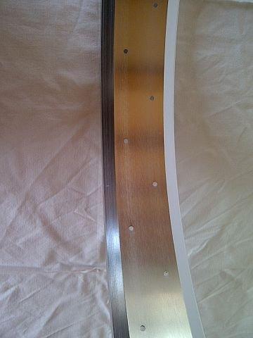 "alloy rim RM80, 26"", silver (bright) anodized, 32h"