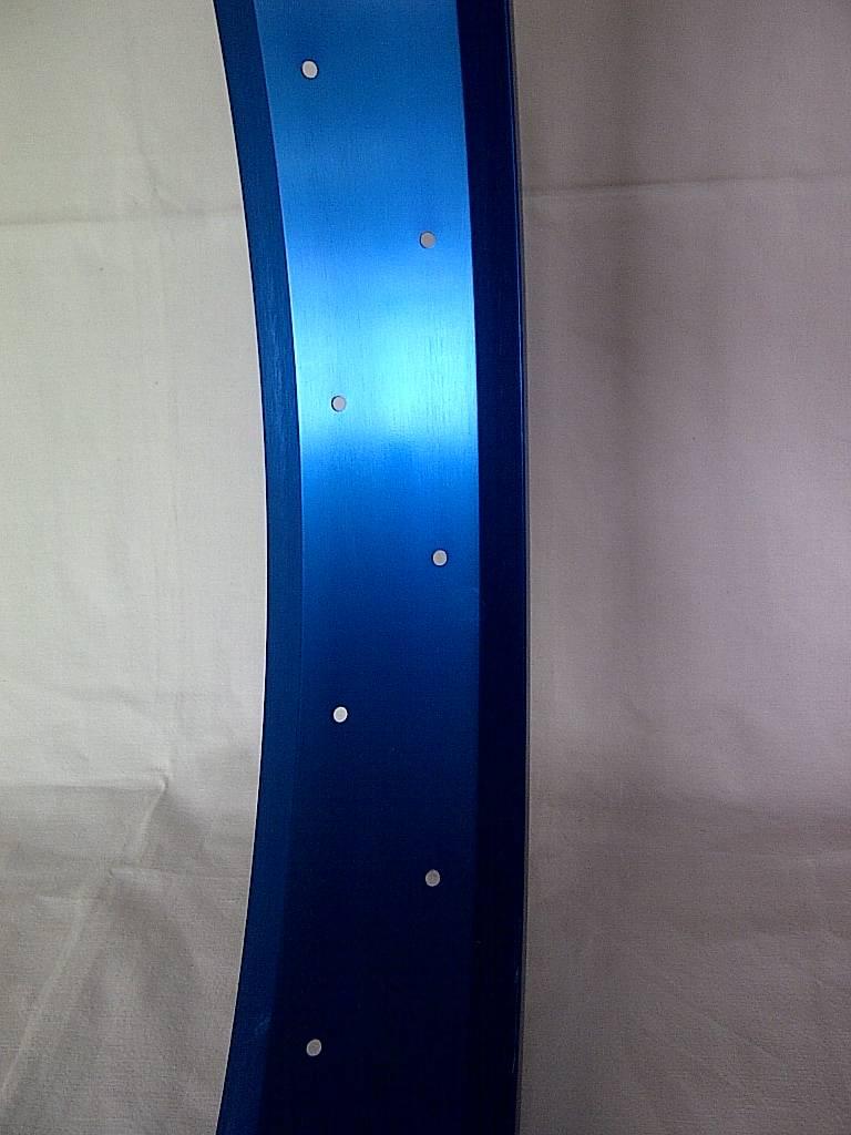 """Alufelge RM80, 26"""", blau eloxiert, 32 Loch"""
