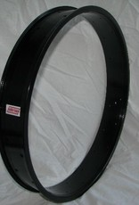 "double wall rim DW80, 26"", black anodized, 32h"