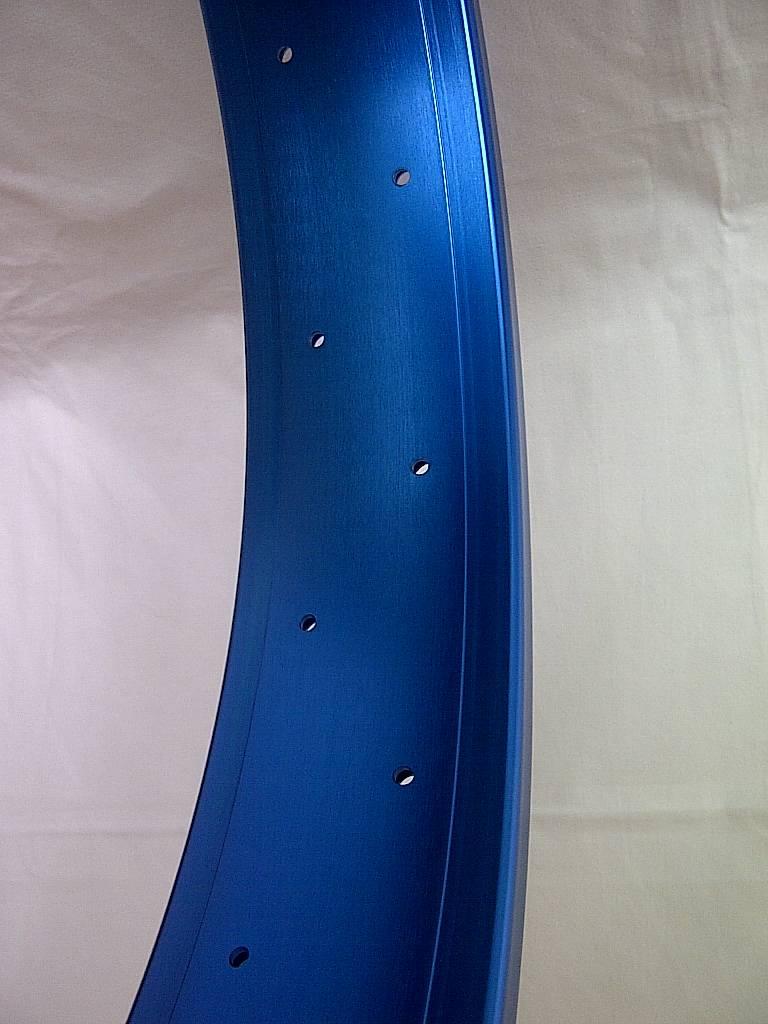 """Hohlkammerfelge DW80, 26"""", blau eloxiert, 32 Loch"""