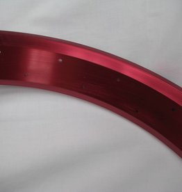 """alloy rim RM80, 24"""", red anodized"""