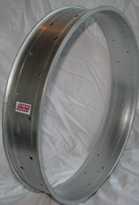 "alloy rim DW100, 24"", silver (matt) anodized"