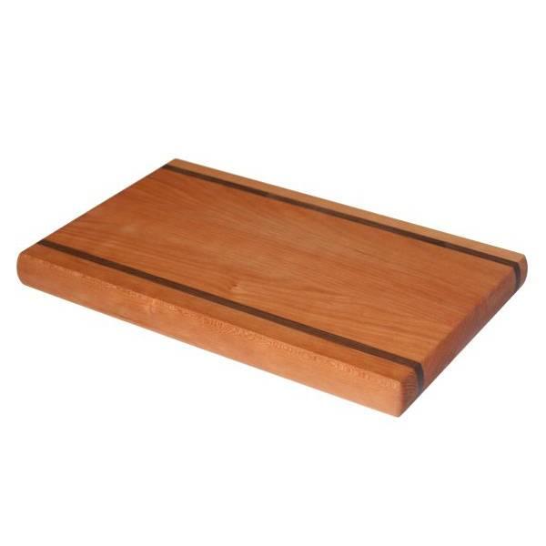 Sierlijke serveerplank 40 x 25 x 3,5 cm