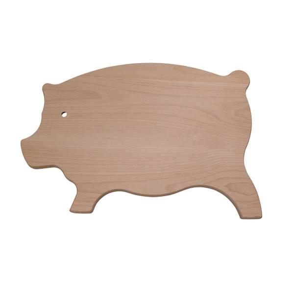 Snijplank in de vorm van een varken 45 x 30 x 2 cm