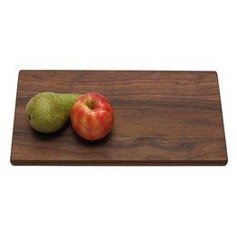 Snijplank van notenhout, 37 x 20 x 2 cm