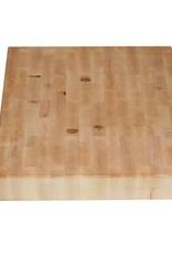 Hakblok voor op het aanrechtblad, 40 x 40 x 9 cm