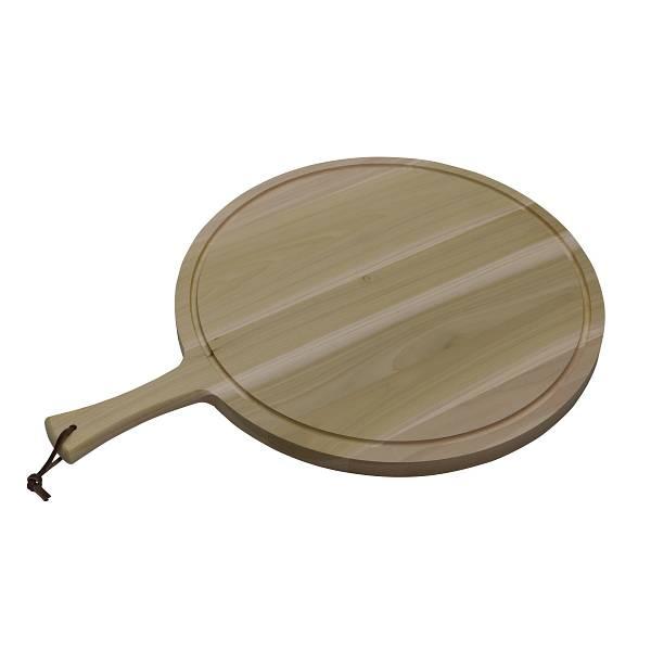 Serveerplank tulpenboomhout Ø49 x 2,5 cm