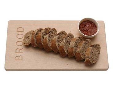 Massief houten broodplank