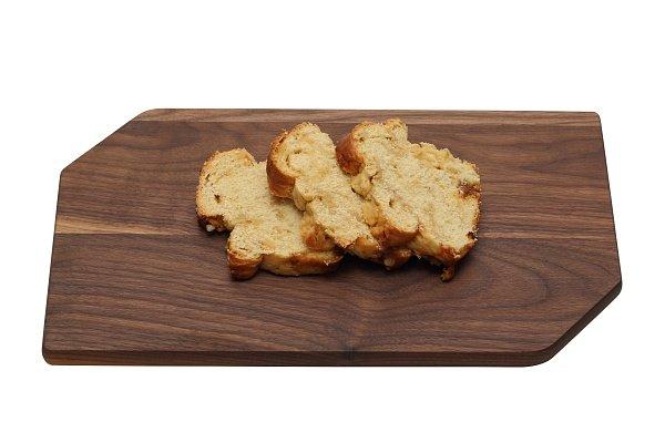 Luxe notenhouten snijplank 37 x 20 x 2 cm