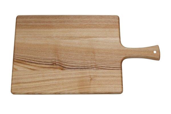Snijplank essenhout met greep 45 x 25 x 2 cm