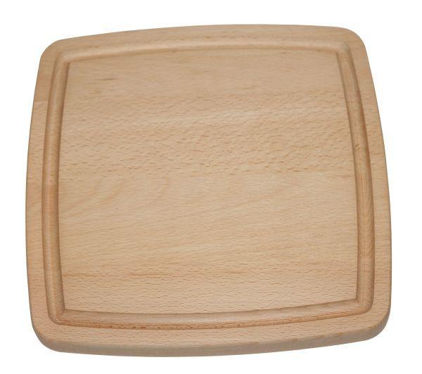 Vierkante snijplank 30 x 30 x 2,5 cm