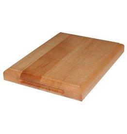 Zware beukenhouten snijplank, 40 x 30 x 4,5 cm