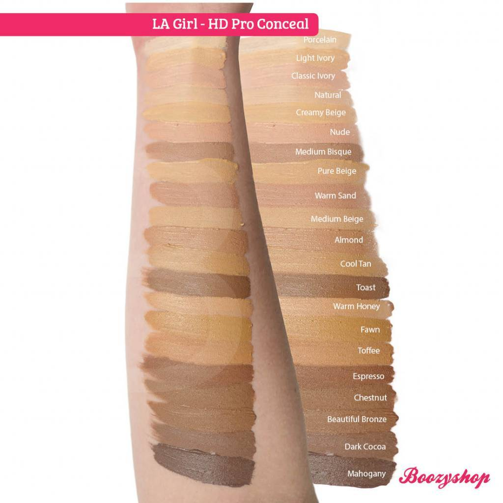 LA Girl HD Pro Conceal Light Ivory