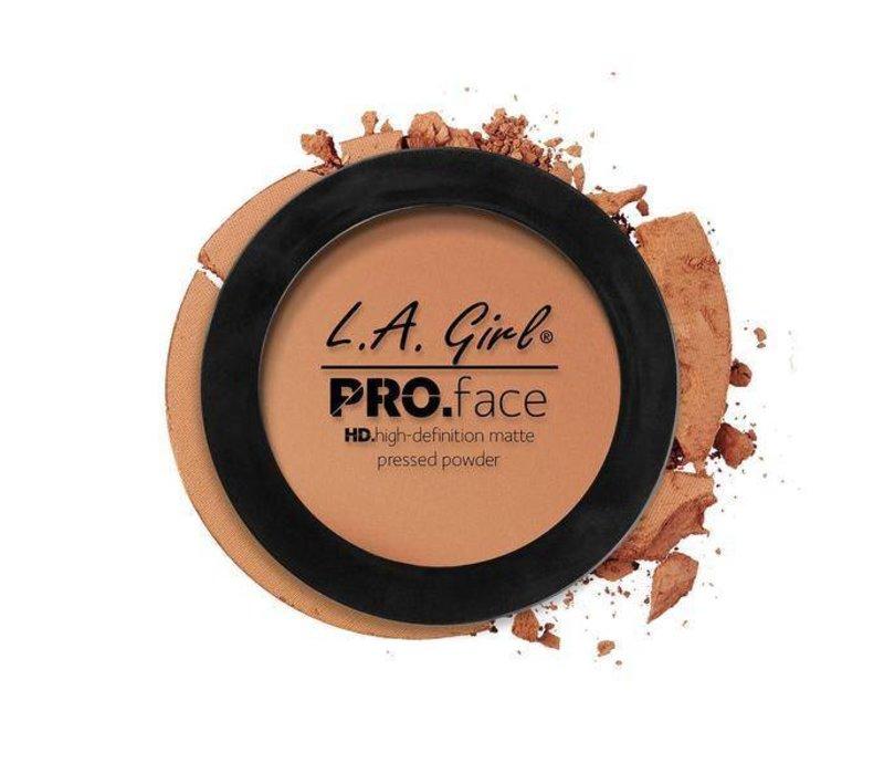 LA Girl HD Pro Face Pressed Powder Warm Caramel