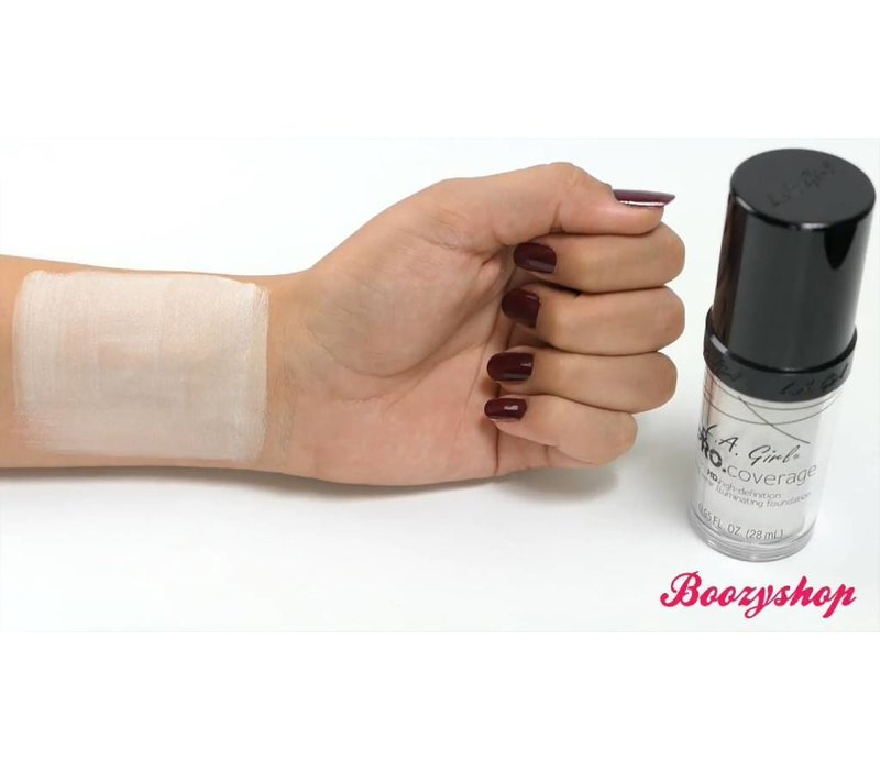 LA Girl Pro Coverage HD Liquid Foundation White (Lightener)