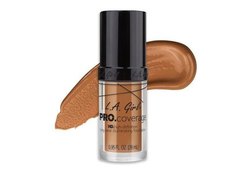 LA Girl HD Liquid Foundation Warm Caramel