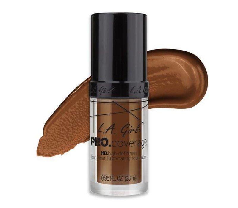 LA Girl Pro Coverage HD Liquid Foundation Rich Cocoa