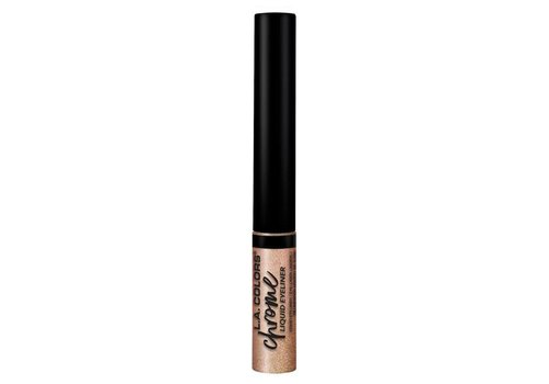 LA Colors Liquid Eyeliner Chrome Rose Gold