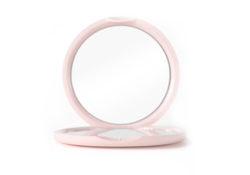 Boozyshop Soft Pink Pocket Mirror