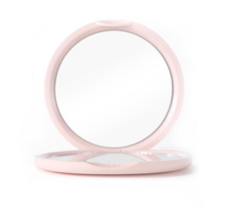 Boozyshop Soft Pink Pocket Mirror
