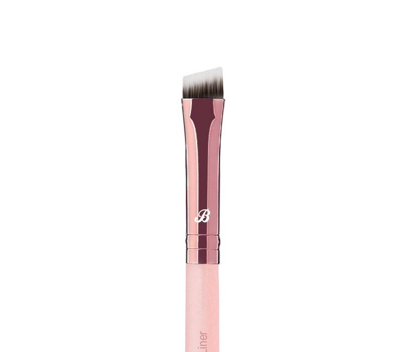 Boozyshop Pink & Rose Gold Brow Liner Brush