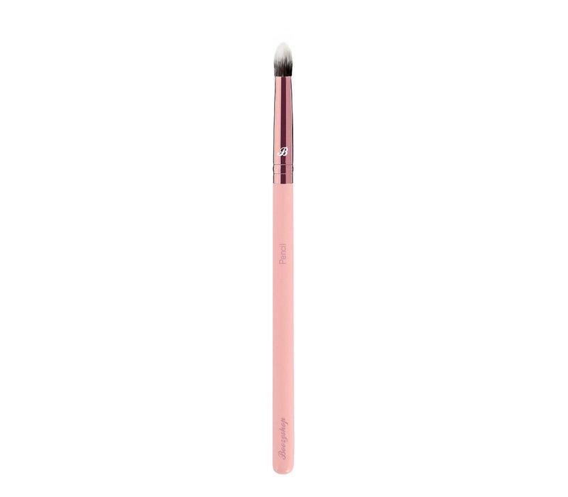Boozyshop Pink & Rose Gold Pencil Brush