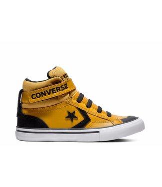 Converse PRO BLAZE STRAP - HI - TURMERIC GOLD/BLACK/WHITE