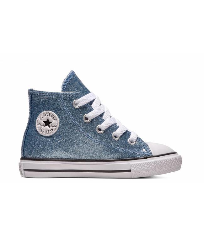 e81ae089b9209b CHUCK TAYLOR ALL STAR - HI - LIGHT BLUE NATURAL WHITE -  Sneakable