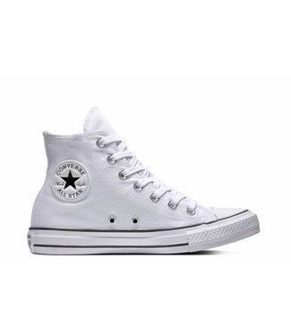 Converse CHUCK TAYLOR ALL STAR - HI - WHITE/WHITE/BLACK