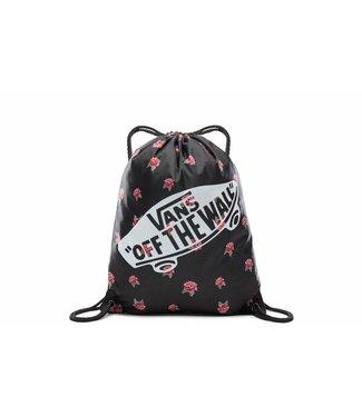 Vans WM BENCHED BAG BLACK ROSE