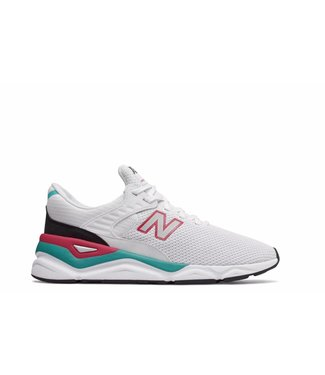 New Balance NB X-90 White with Pomegranate